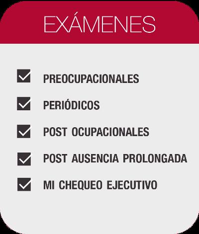 Medidicina laboral - Examenes
